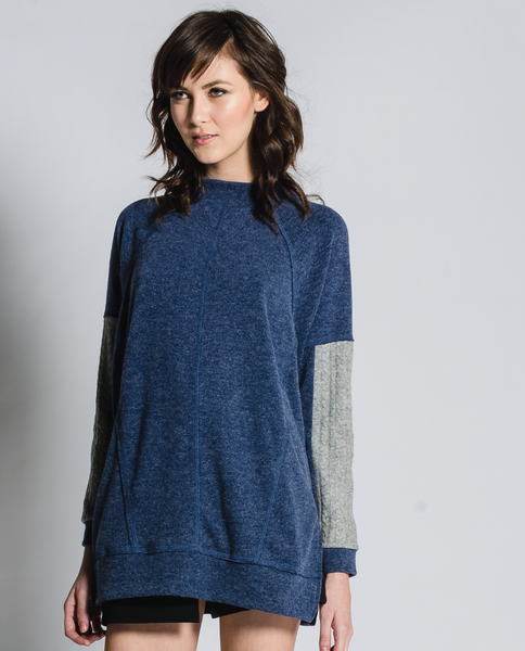 Audra Sweater in Navy