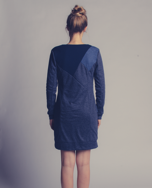Celeste Dress in Blue