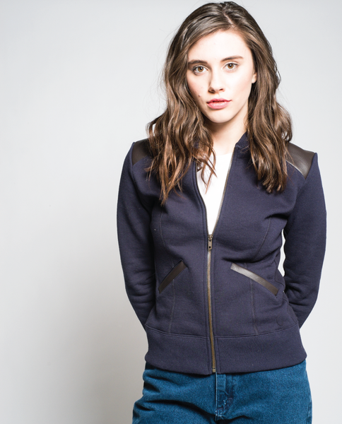 Goldy Jacket in Navy