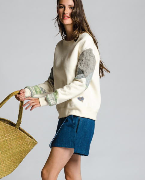 Granville Sweatshirt in Off-White