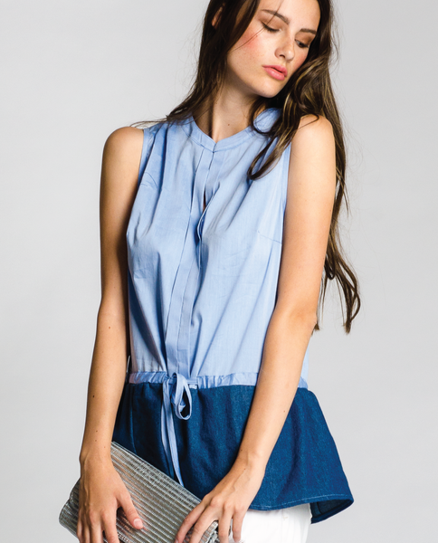 Indio Top in Blue