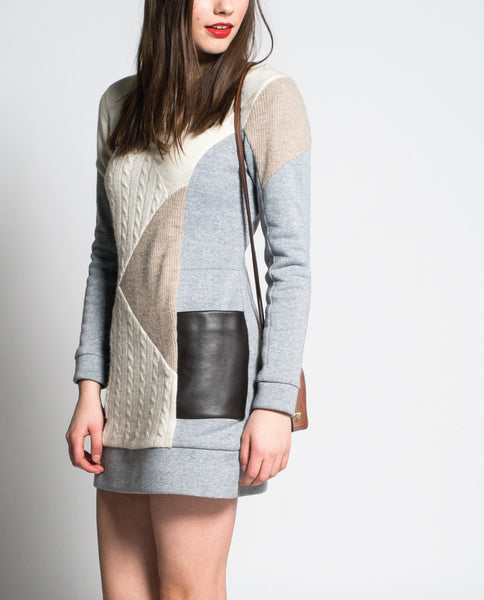 Joan Dress in Grey
