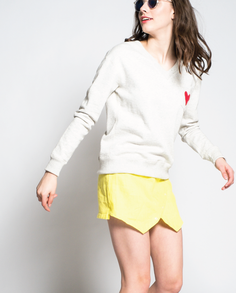 Lucy Sweatshirt in Off-White