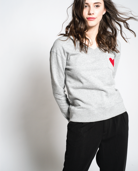 Lucy Sweatshirt in Grey