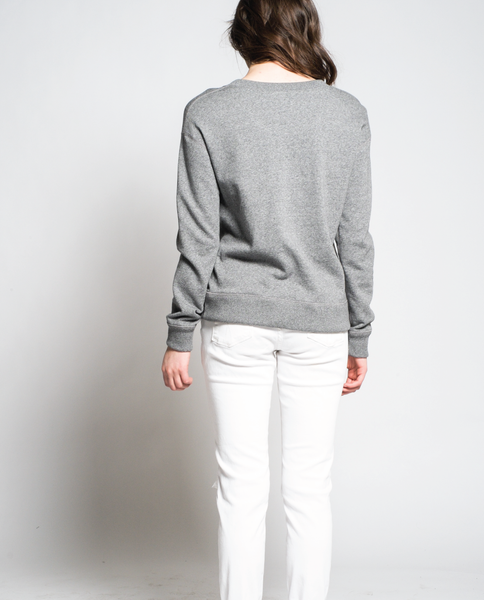 Lucy Sweatshirt in Salt & Pepper