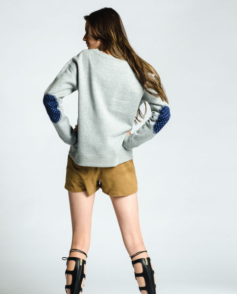 Queen West Sweatshirt in Grey