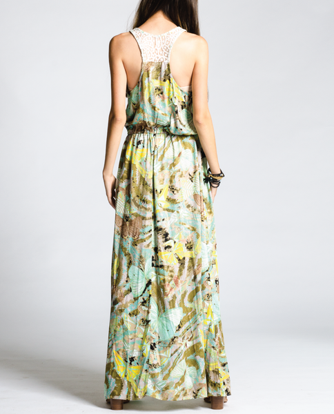 Shelby Maxi Dress in Monet