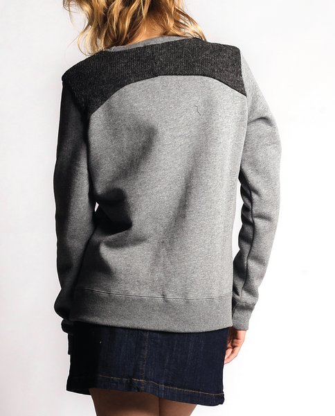 St. Laurent Sweatshirt in Charcoal