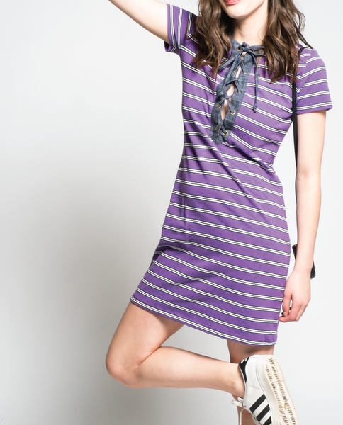 Velma Dress in Purple