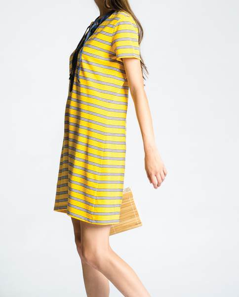 Velma Dress in Yellow