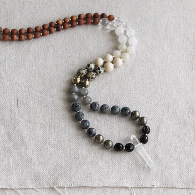 Night Sky Beaded Mala
