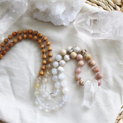 Make Your Own Mala Workshop - Apr. 27 - Good Day Cafe