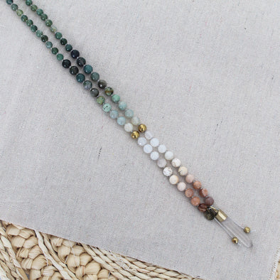Growth Knotted Mala
