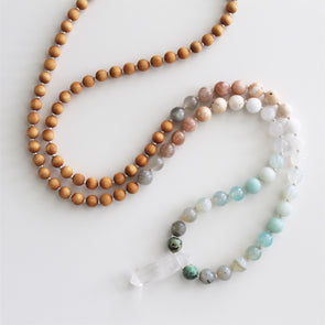 Breathe Beaded Mala