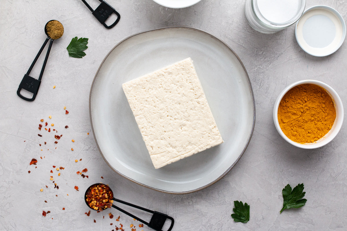 What is sprouted tofu—and why we use it at V+B