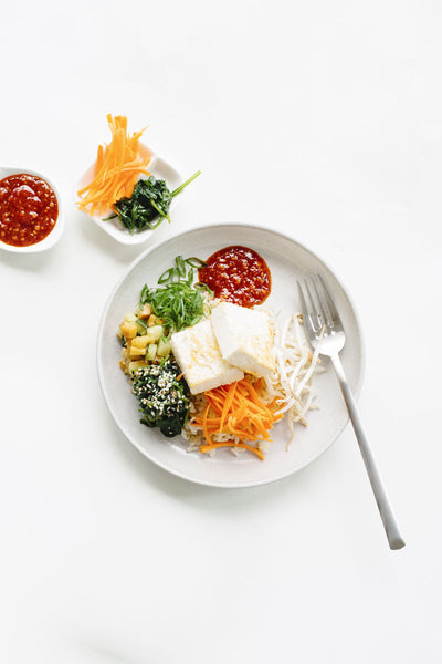 Korean Vegetable Bibimbap
