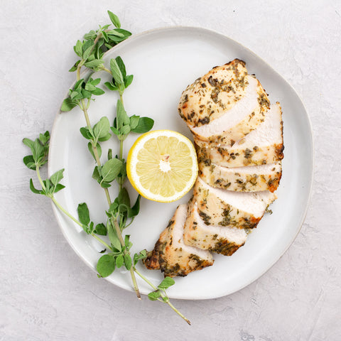 Lemon-Herb Grilled Chicken Breast
