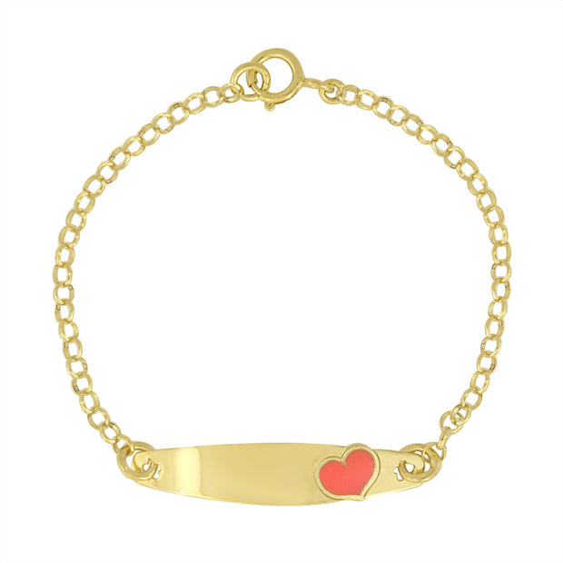 Little Girls ID Bracelet Engravable