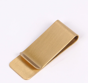 Money Clip in Steel Engravable Two Colors