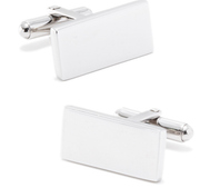 Steel Engravable Rectangle Cufflinks