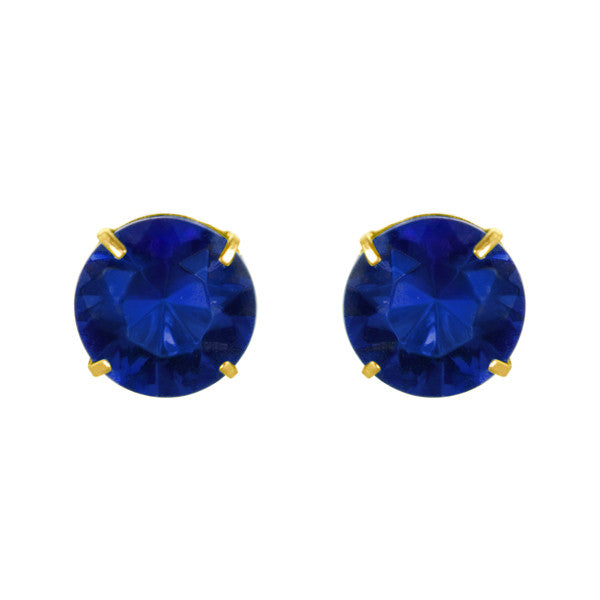 September Birthstone Studs for Little Girls