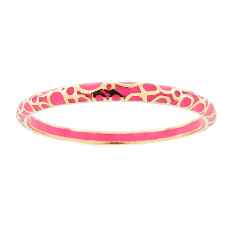 Hot Pink Bubble Bangle byHamilton Crawford Bangle