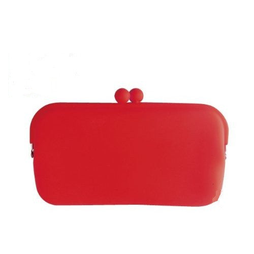 Red Silicone Purse by Koala