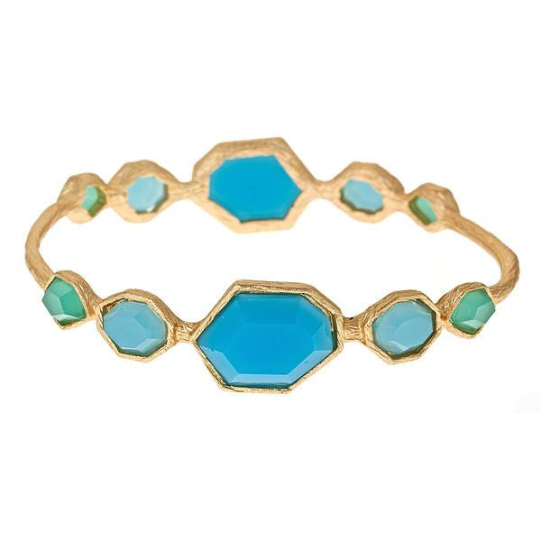 Tuquoise Cabana Bangle by Fornash