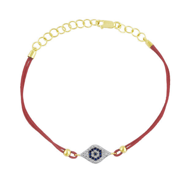 Evil Eye Red Rope Bracelet