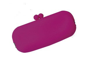 Fuschia  Eyeglass Case in Silicone by Koala