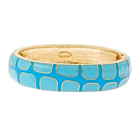 Gecko Bangles by Fornash in Turquoise As seen in O Magazine