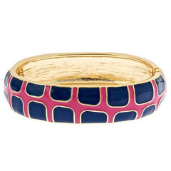 Gecko Bangles by Fornash Pink and Navy As seen in O Magazine