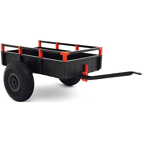 BERG Go Kart Accessories Large Trailer Grey