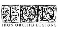 Iron Orchid Decor Stamps
