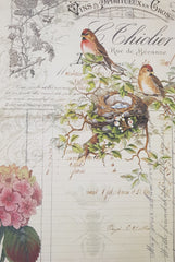 Roycycled Treasures Decoupage Paper