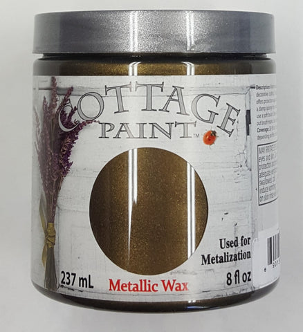 Antique Bronze Metallic Wax - 8oz