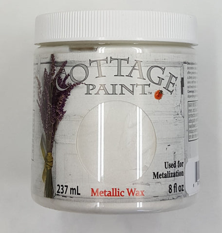 Pearl White Metallic Wax - 8oz