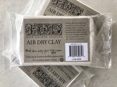 Air Dry Clay for Moulds