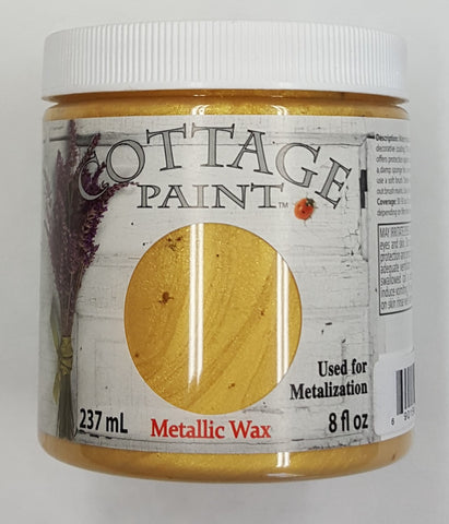 Bright Gold Metallic Wax - 8oz