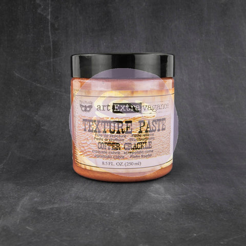 Texture Paste-Copper Crackle