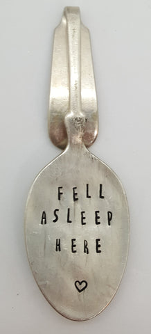 Bookmark - Feel asleep here