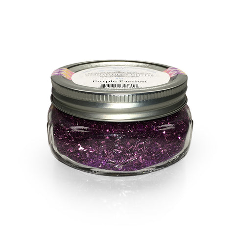 German Glass Glitter-Purple Passion