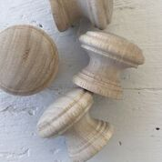 Wooden Knobs - 1.5""