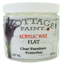 Acrylic Wax Flat - 8oz