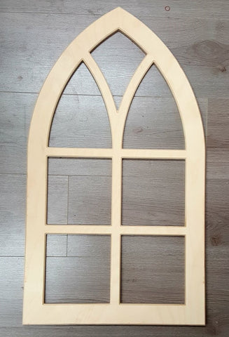 Wooden Window Arch