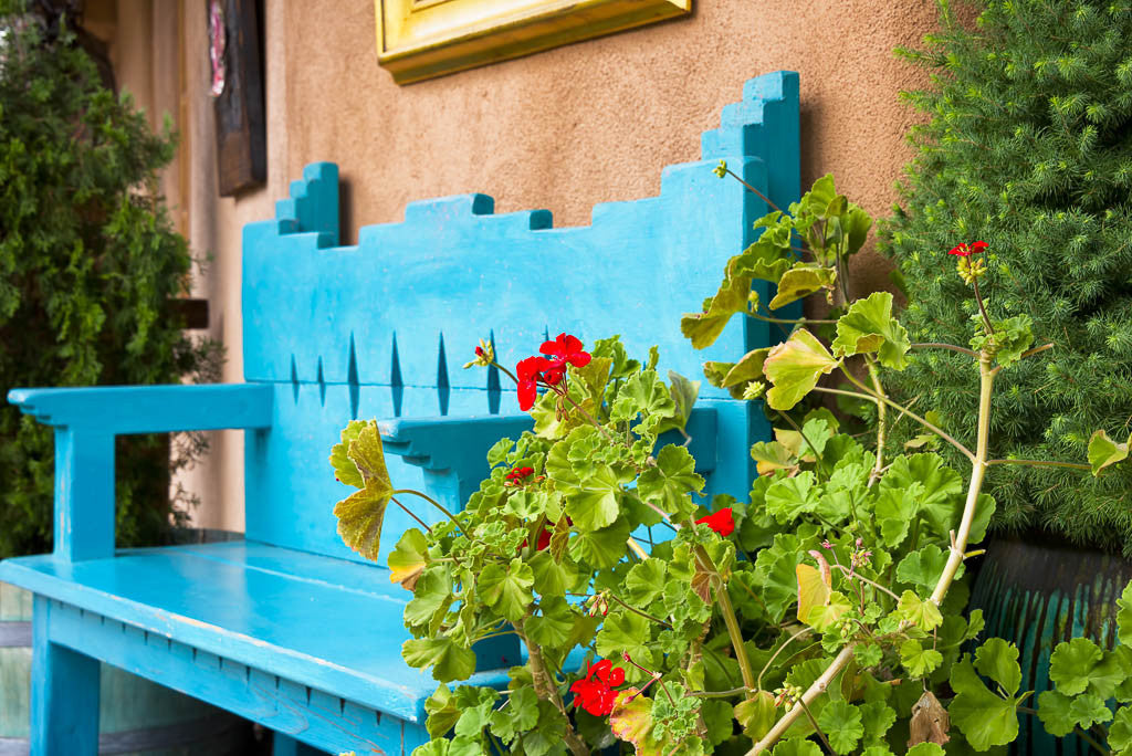 Blue-refinished-bench