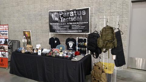 Paratus Tactical Equipment September Gun Show Event