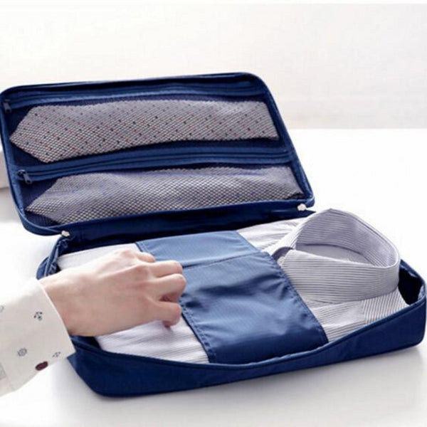 Travel Shirt And Tie Organizer