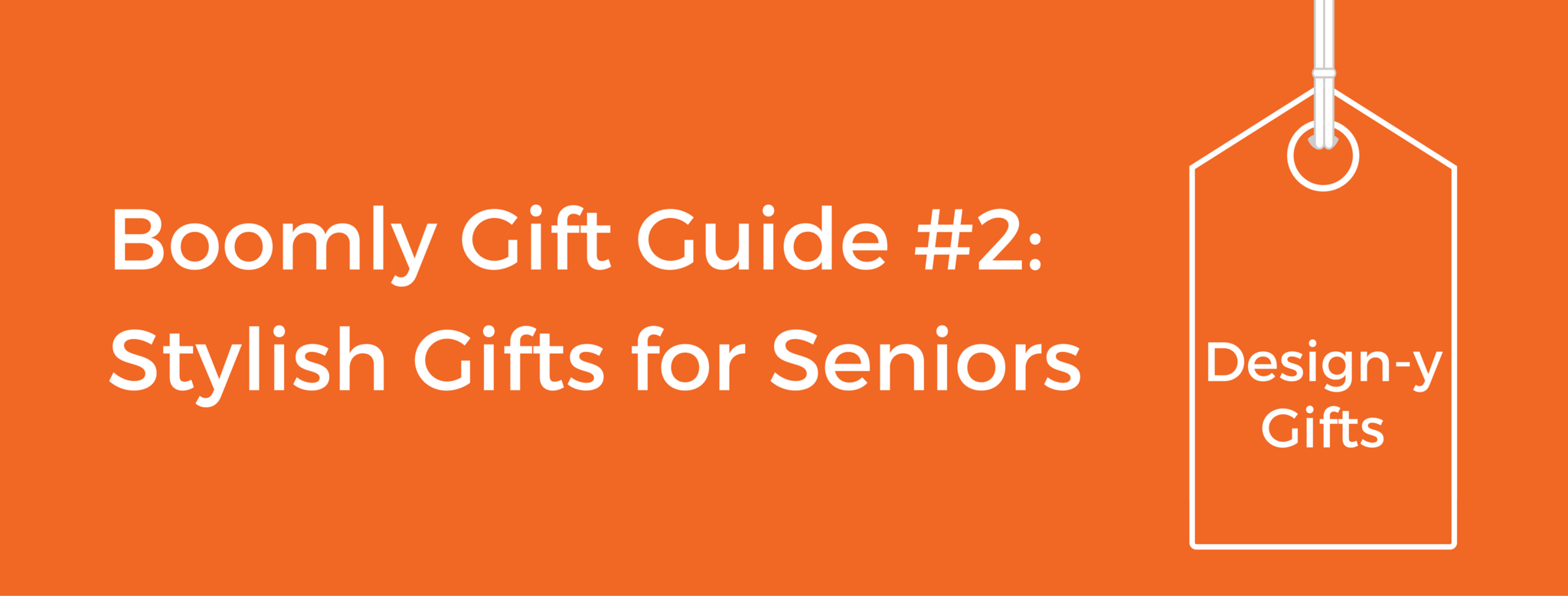 Design-y Gift Ideas for Stylish Seniors
