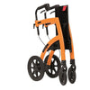 Rollz Motion Folding Transport Chair and Rollator - Folded - Boomly